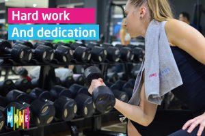 5 moduri de a fi motivat si perseverent cand mergi la sala - Let's move Iasi
